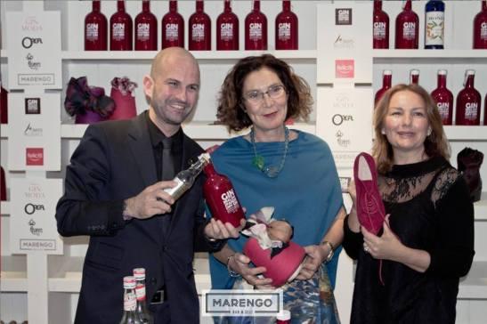 Fernanda Orga, Yolanda Campaña y Luis Ibañez