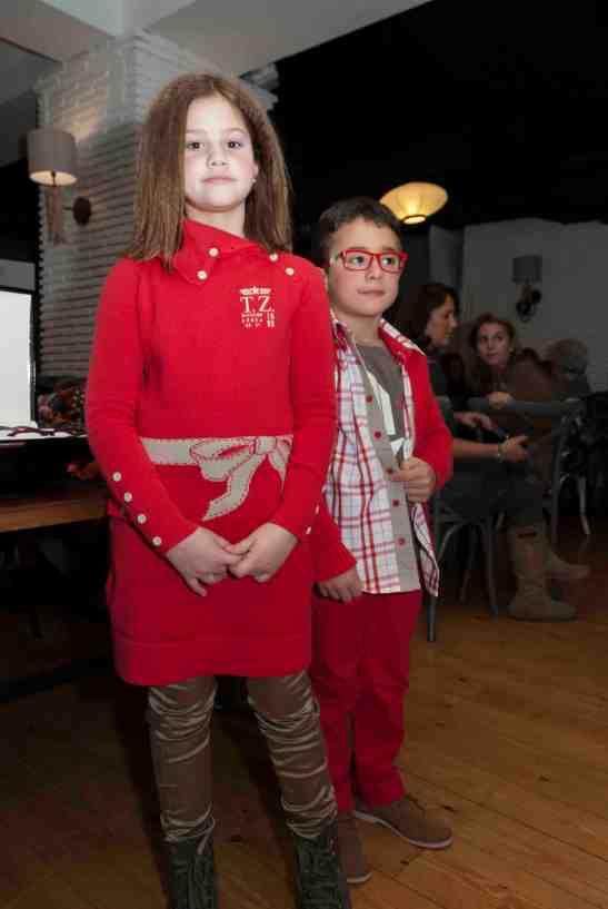 niños rojo
