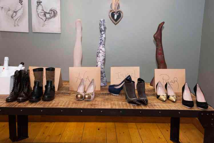 Zapatos y pantys de Queen Shoes