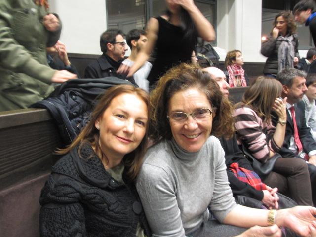 Yolanda Campaña y Fernanda Orga
